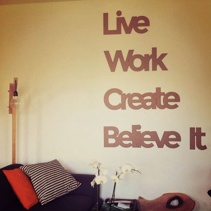 Live Work Create Believe